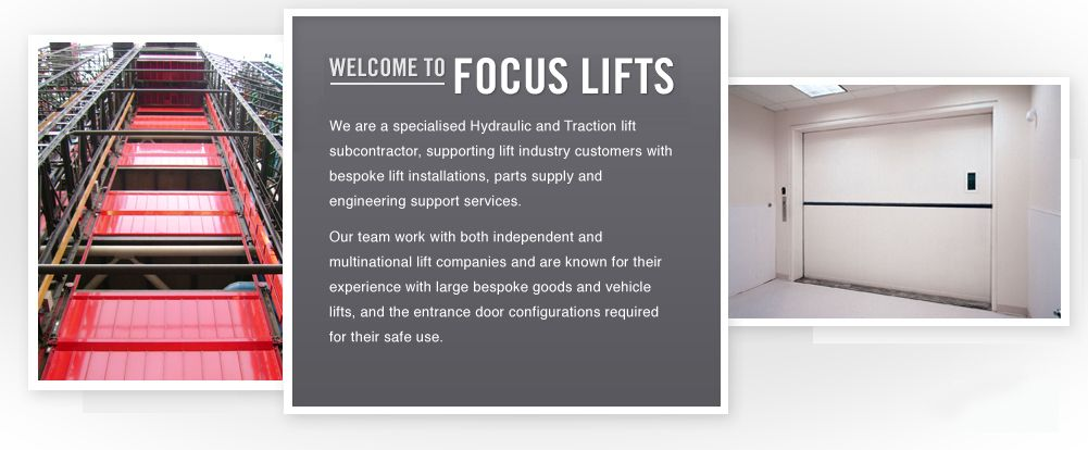 We are specialists in the supply and installation of heavy duty passenger lifts, goods lifts and vehicle lifts.