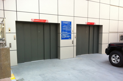 Two Hydraulic Car Lifts for Indoor Carpark - Focus Lifts