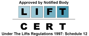 Focus Lifts Lift Cert logo