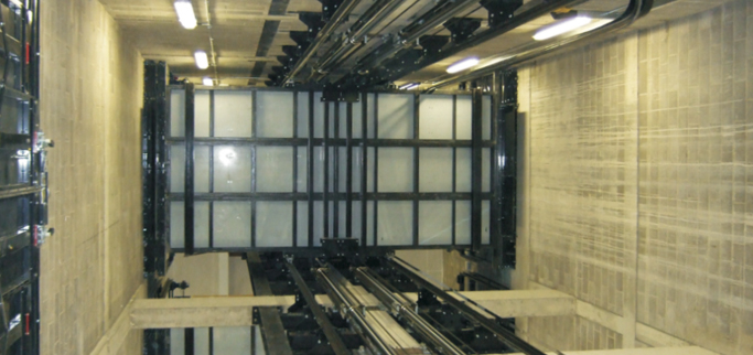 lift installation, hydraulic lift installation