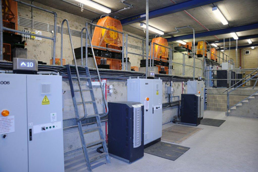 new lift controllers installed for traction lift modernisation