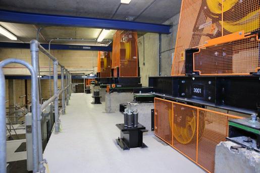 Heavy duty traction lift motors for lift modernisation