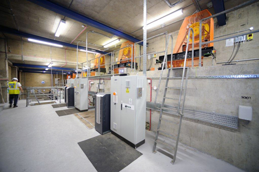 Completed traction lift motor room modernisation - Focus Lifts