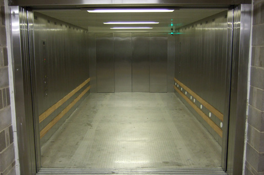 Interior of Heavy Duty Lift for Vehicles - Focus Lifts