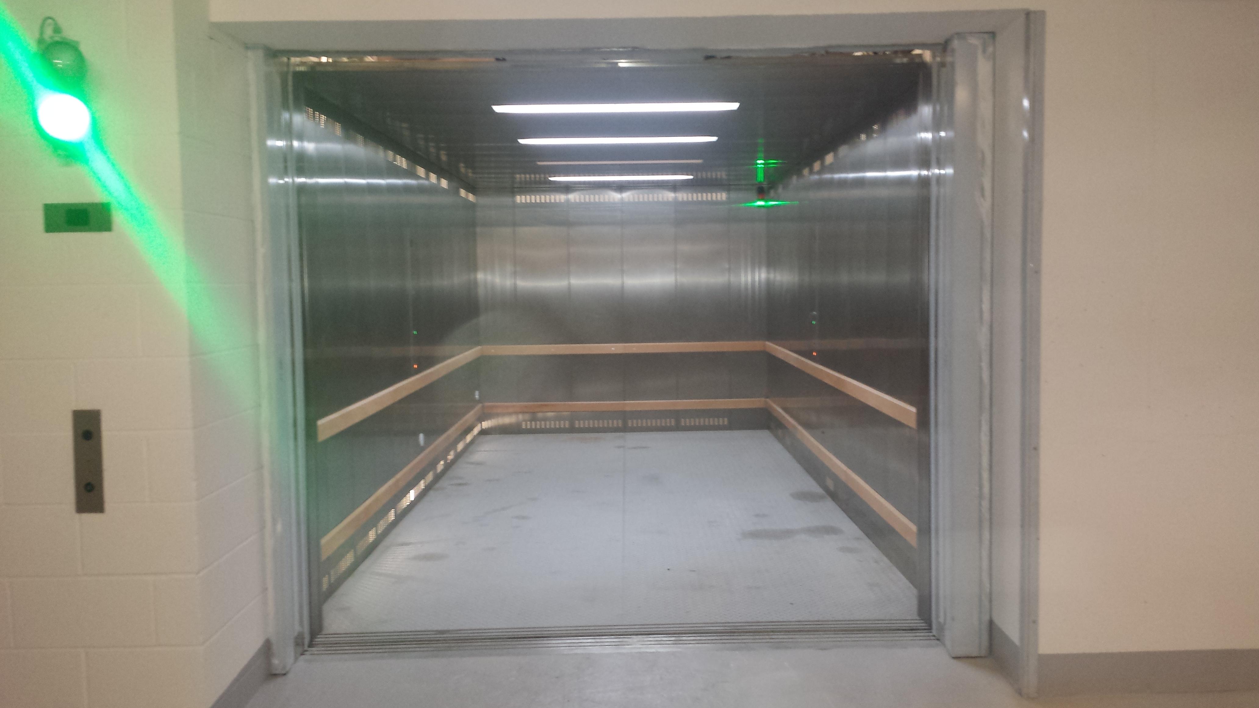 hydraulic car lift installation- St James, London