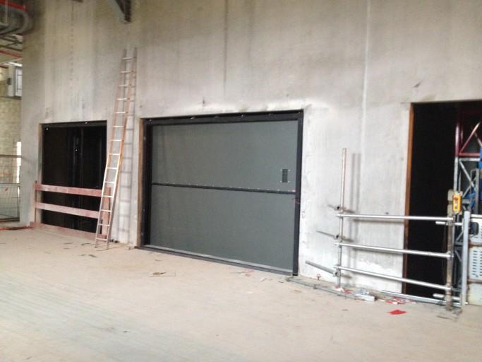 Peelle Lift Doors