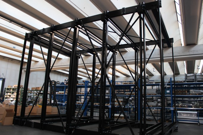 Car lift sling full structure