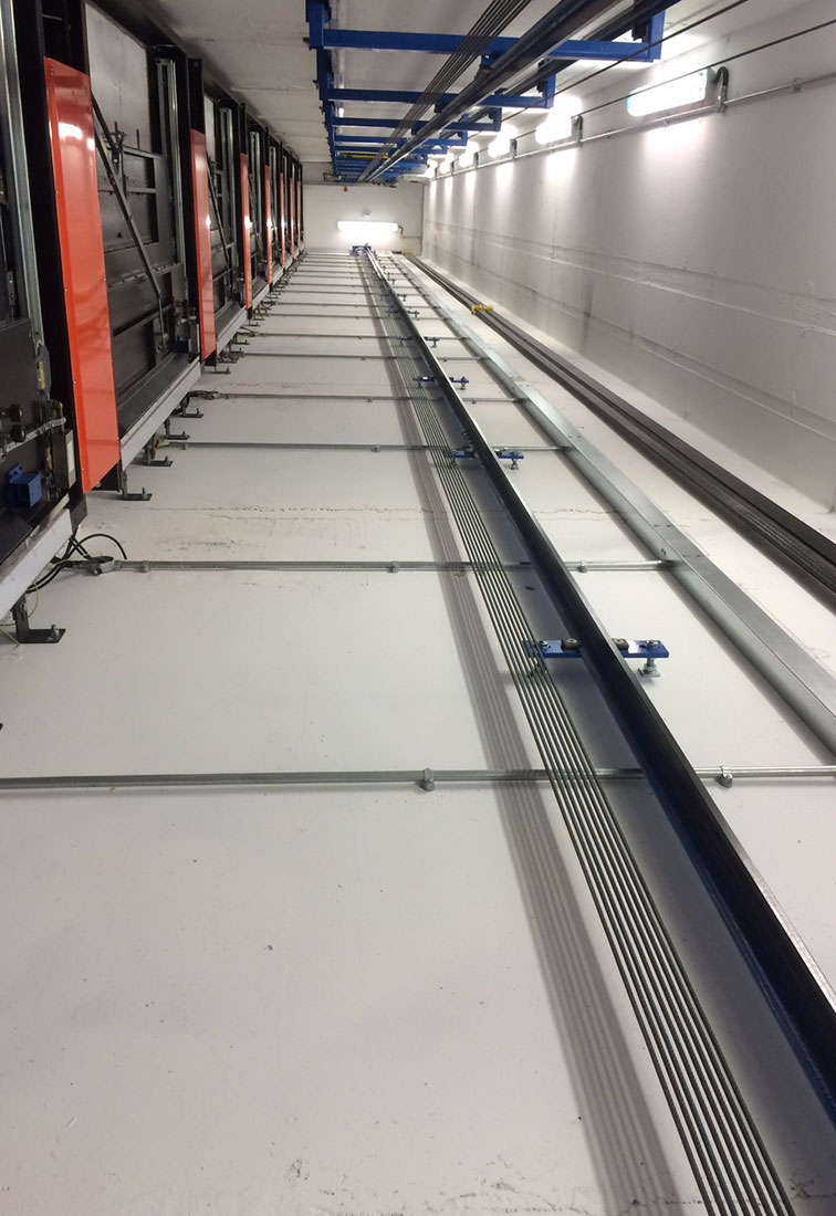 mrl lift installation