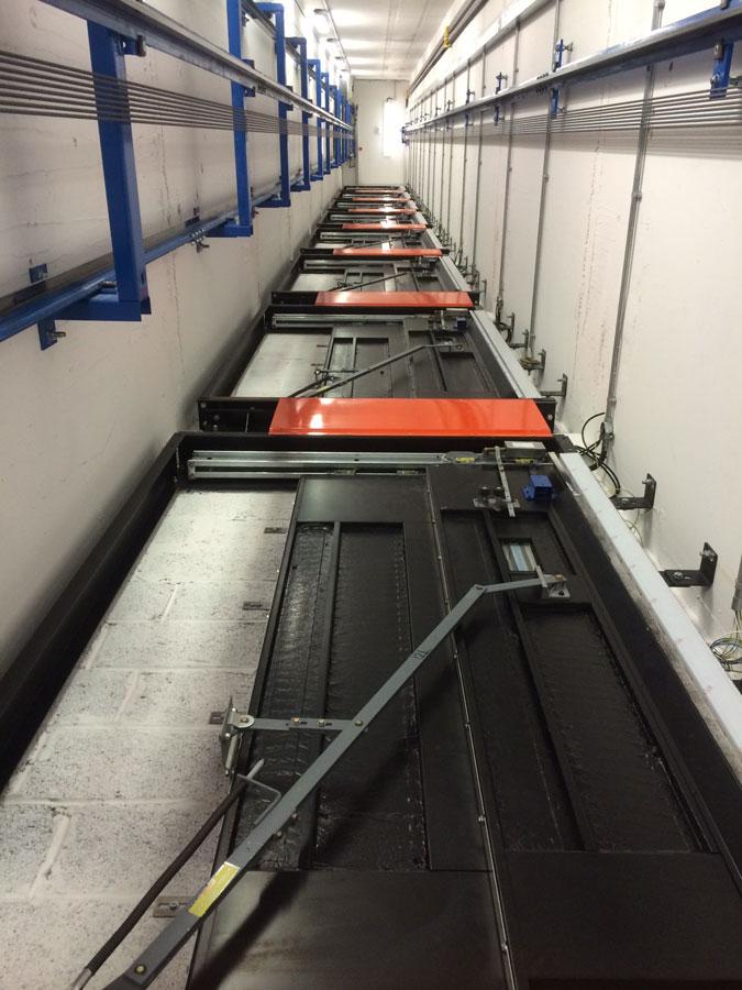mrl passenger lift installation